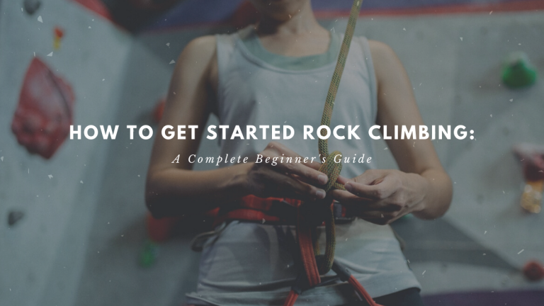 how to get started rock climbing